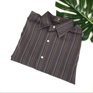Tommy Bahama Long Sleeve Striped Button Down